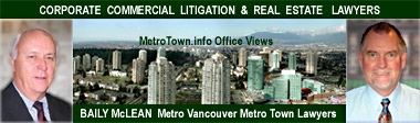 MetroTown office view of Baily McLean - Property Development and  Real Estate Lawyers- CLICK FOR MORE INFO
